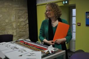 1Emilie Falk - Médiatrice au Musée d'Angoulême (poids Akan)