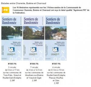 balades entre Charente, Boëme et Charraud