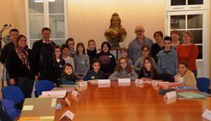 Conseil Municipal des Jeunes élu le 10/12/2016