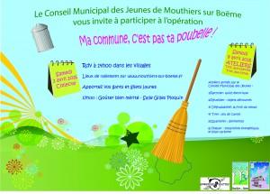 Affiche Nettoyage Printemps