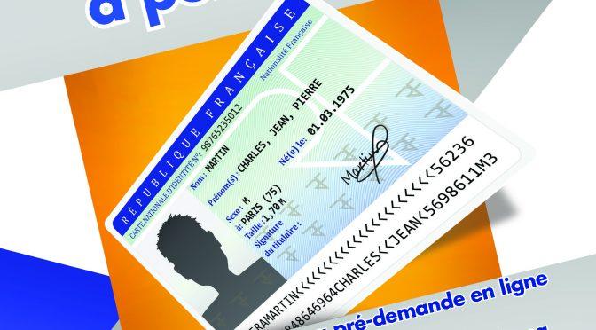 Nouveau service : Passeport et carte d'identité
