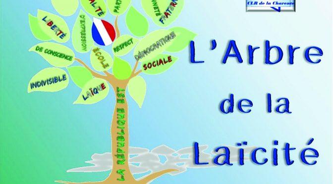 ARBRE DE LA LAÏCITÉ – Samedi 9 décembre 11h