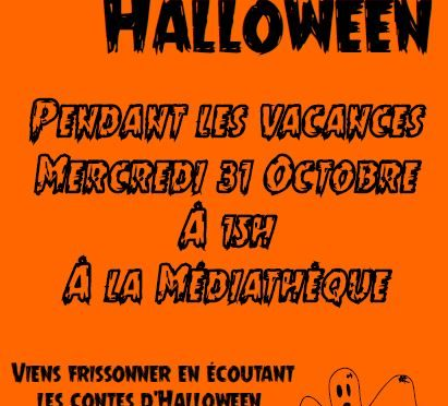 Mercredi 31 Octobre – HALLOWEEN