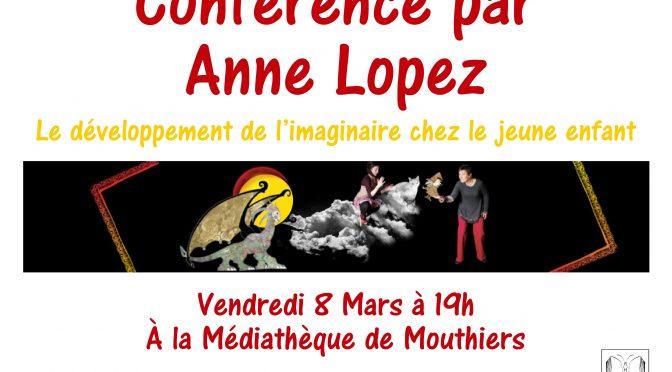 Médiathèque – conférence – Vendredi 8 mars à 19h