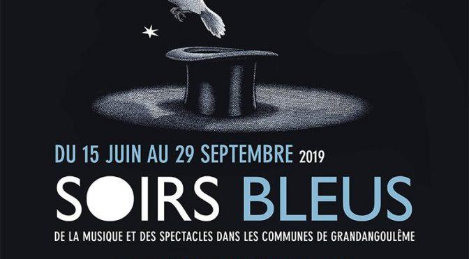 Les Soirs Bleus vendredi 26 juillet