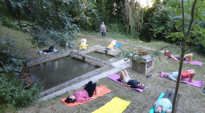 Patrimoine – Yoga mardi 16 juillet