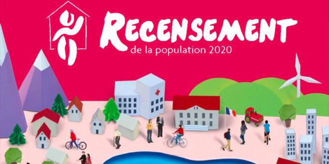 Le recensement  2020